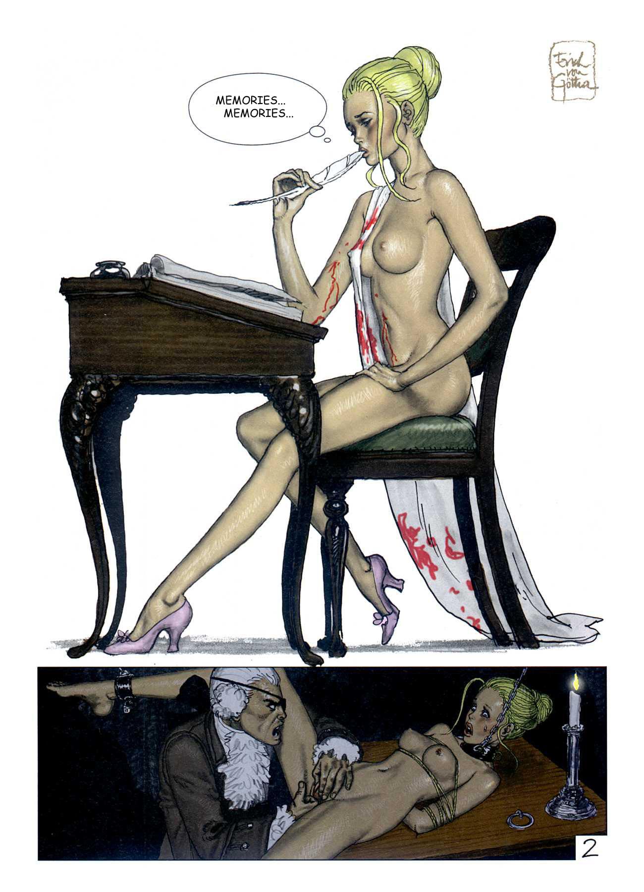 After Party Janice Sketch Comic Porno erich von gotha comics | free porn comics online