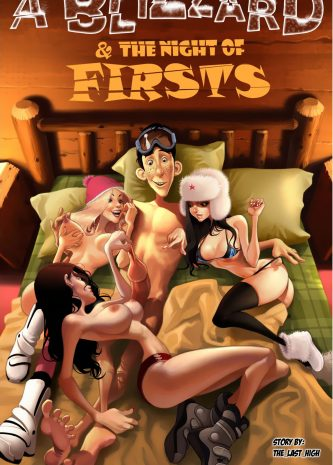 A Blizzard & the night of Firsts, a free comic porn galleries, Jab comix