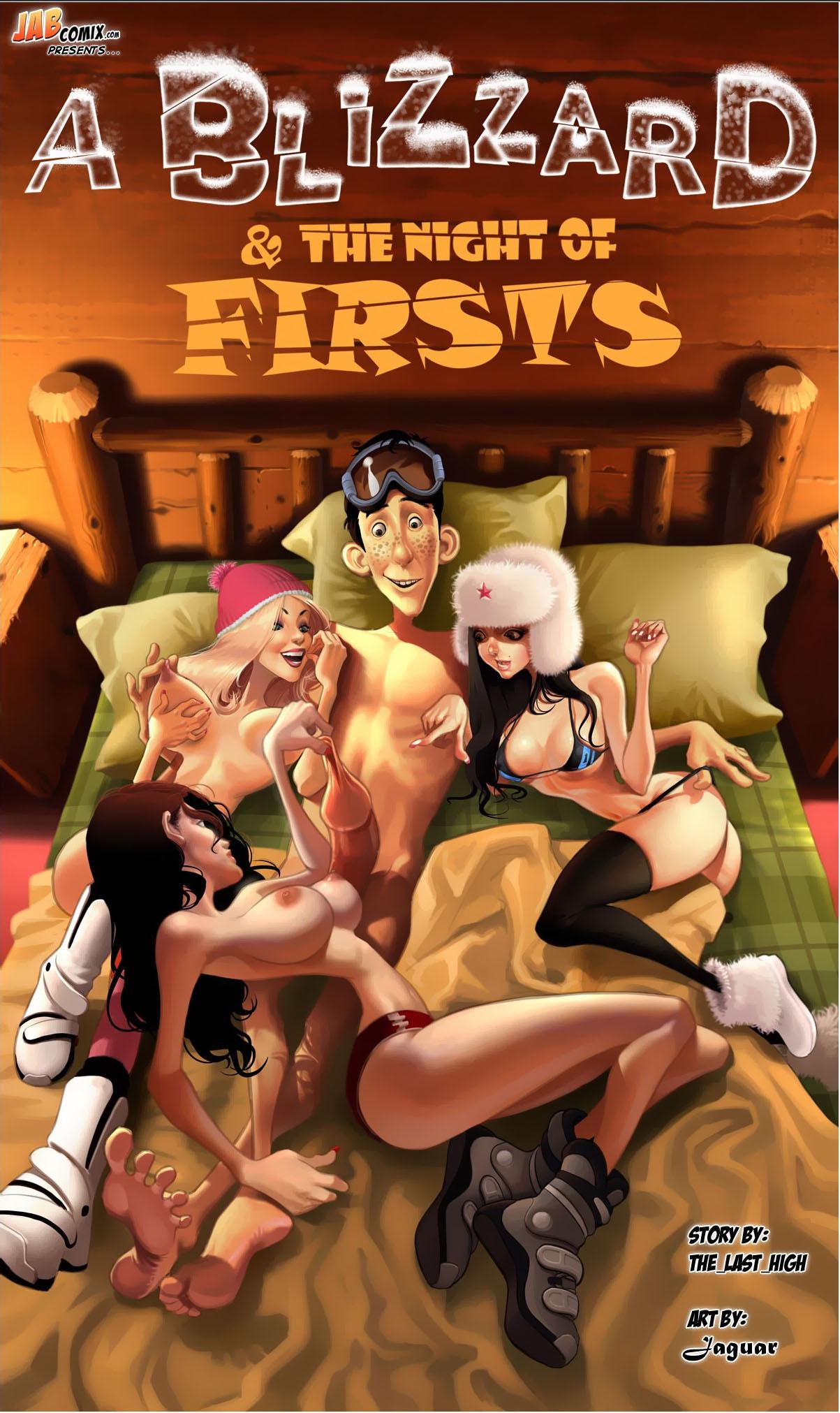 Porn Blizzars Free a blizzard & the night of firsts | jab comics | free porn