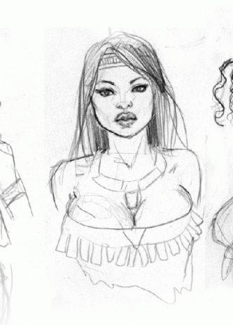 Black-n-White-porn-comics-Sketches