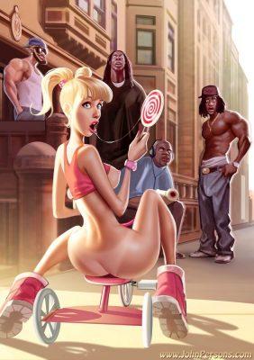 Interracial comics