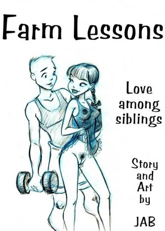Farm Lessons 1 - 8, Jab comics, incest family comic