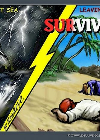 Survivors, drawningpalace comics, bdsm