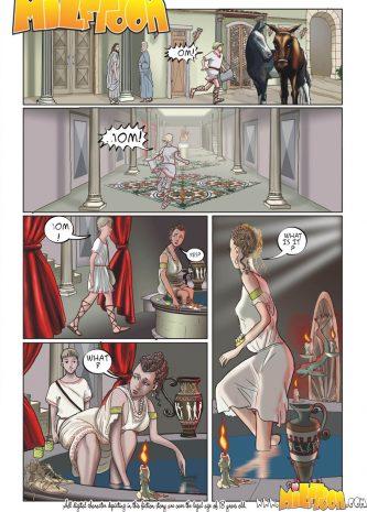Adventures Of Gamistokles, MIlftoon comics