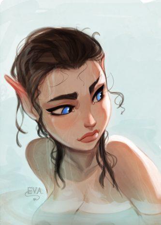 Alfie chapter 3-7, Incase comics, fantasy, elf, porn, cuckold