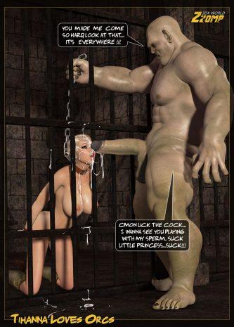 zzomp-comics - Tihanna Love Orcs