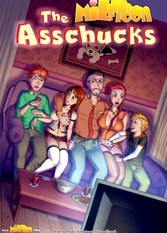 The Asschucks part 1-2, Miltoon comics, porn